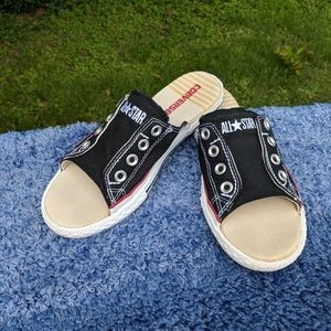 d2590ac18a53 Converse Shoes - 🎉Price Drop sale🎉Converse cut away open toes
